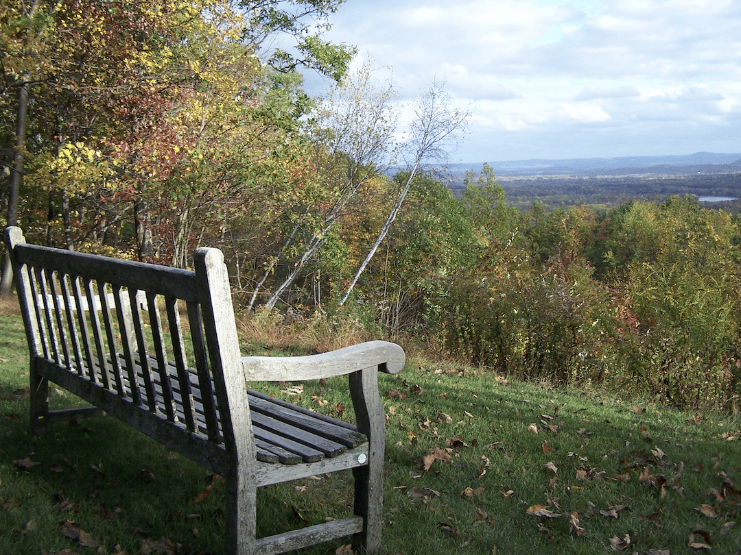 bench at turning point building