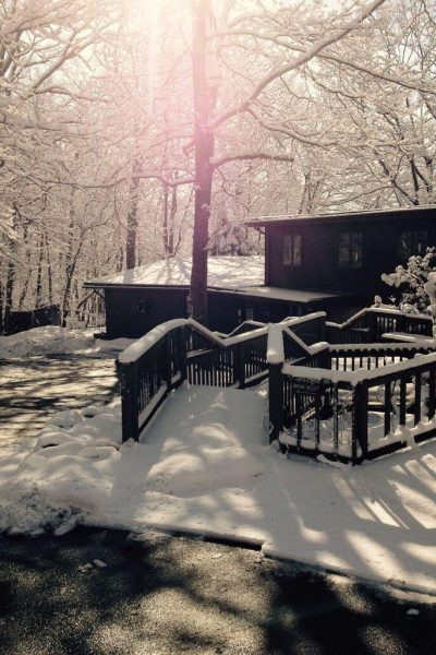 winter at turning point